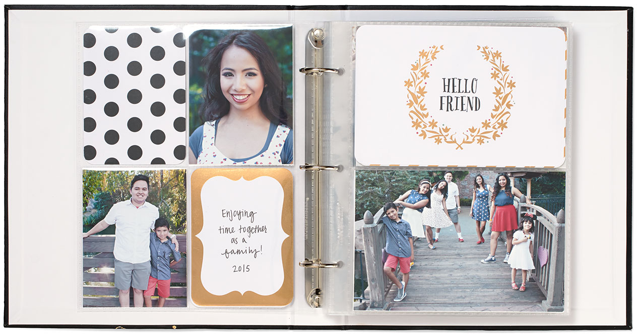 planner photo pages