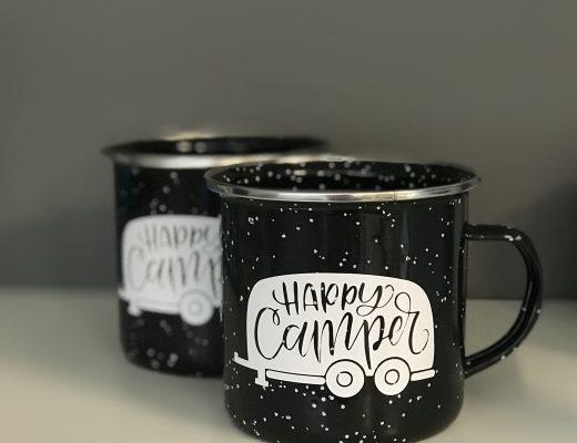 Hot off the press - Happy Camper mugs