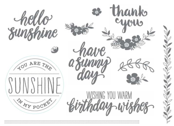 Sunny Thoughts stamp