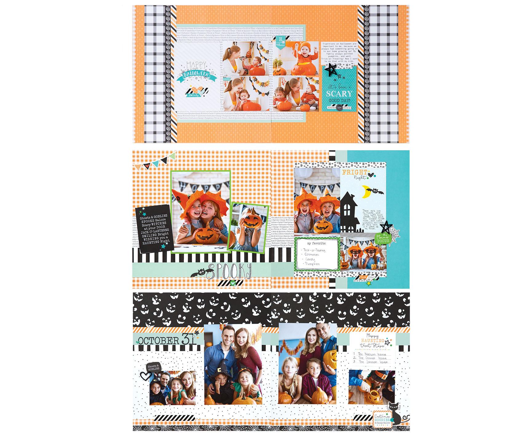 Hello Pumpkin Workshop Your Way layouts