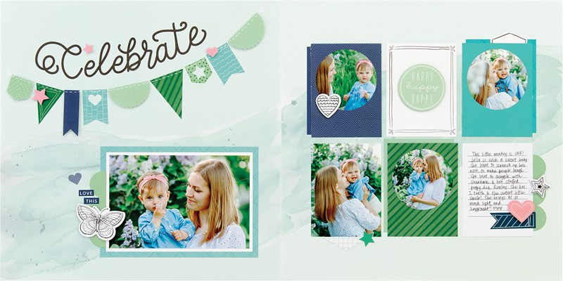 Simple and stunning, speed scrapbooking kits