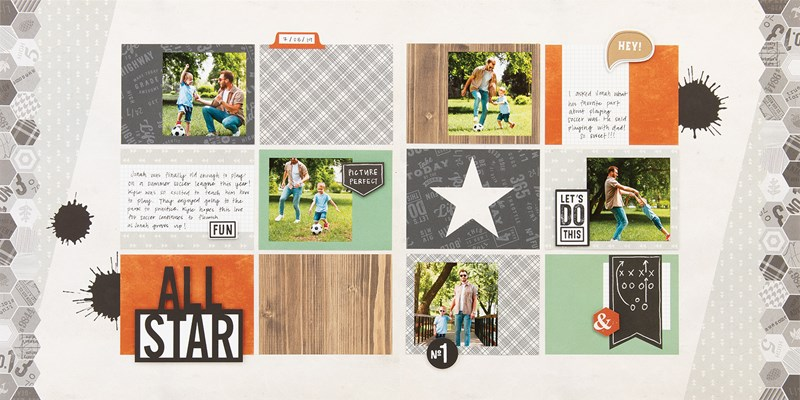 Simple and stunning scrapbooking kits