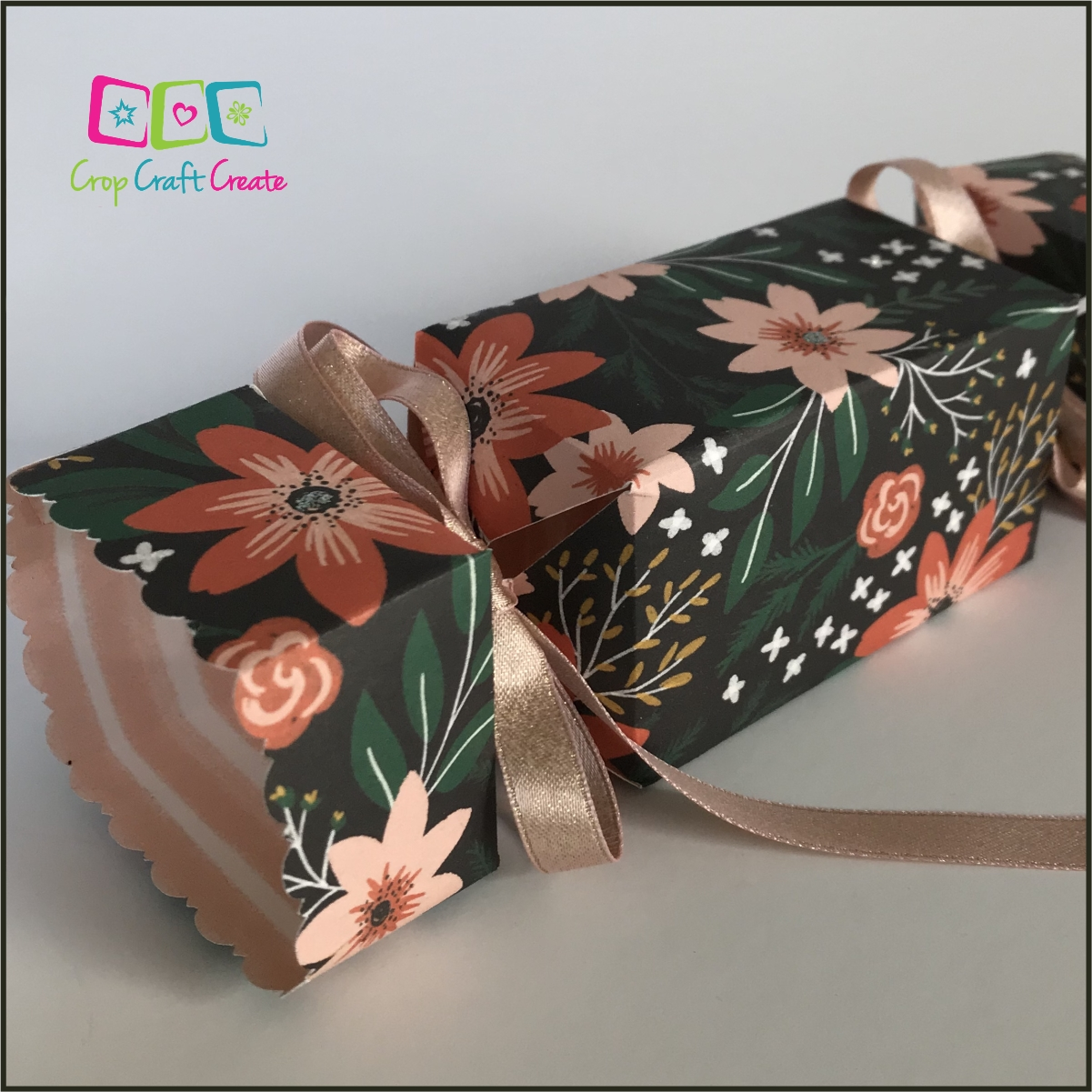 12 Days of Christmas Crafting - Day 6 Christmas Crackers / Bon Bons