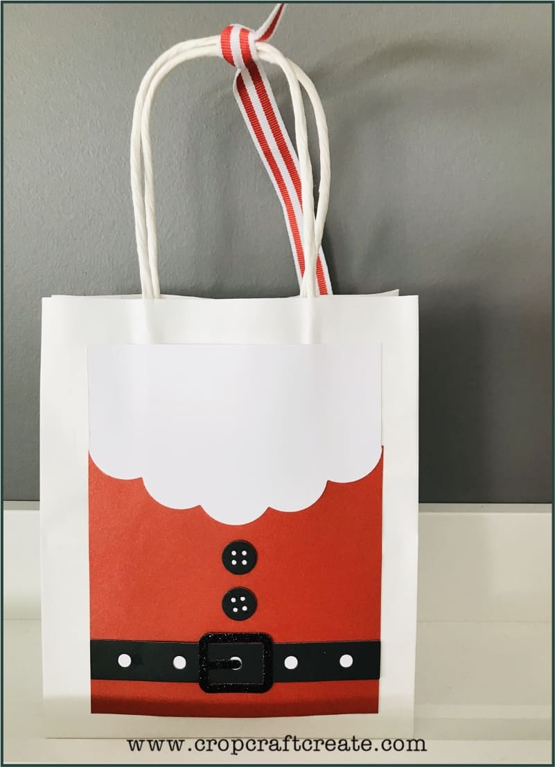 12 Days of Christmas Crafting - gift bag