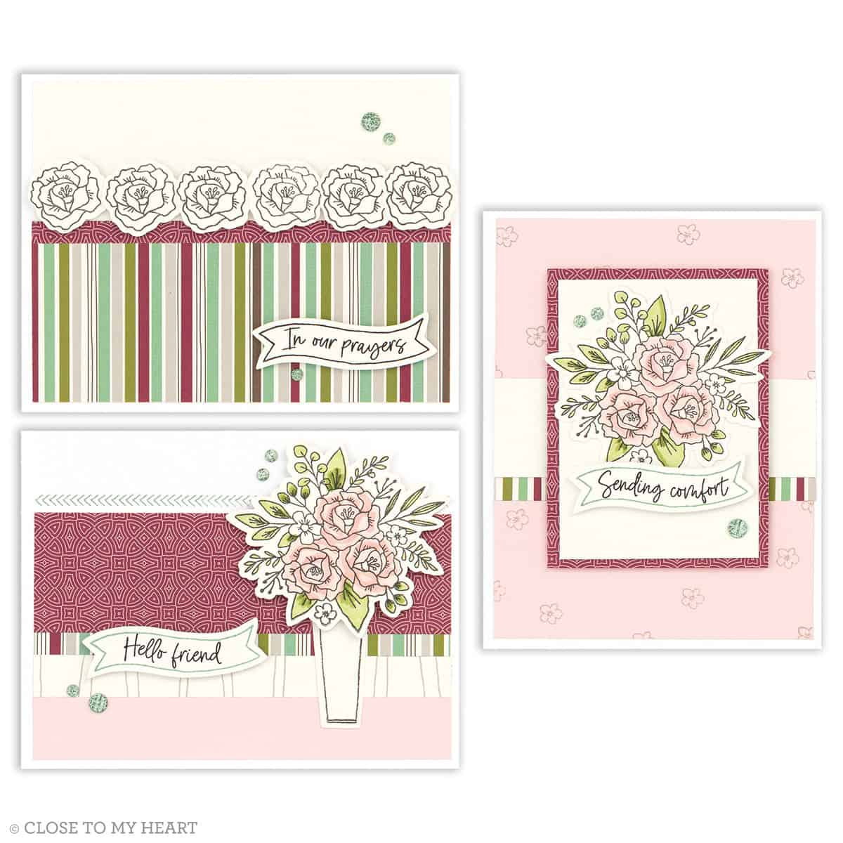 Spruced Up Cardmaking kit - new cardmaking products from CTMH