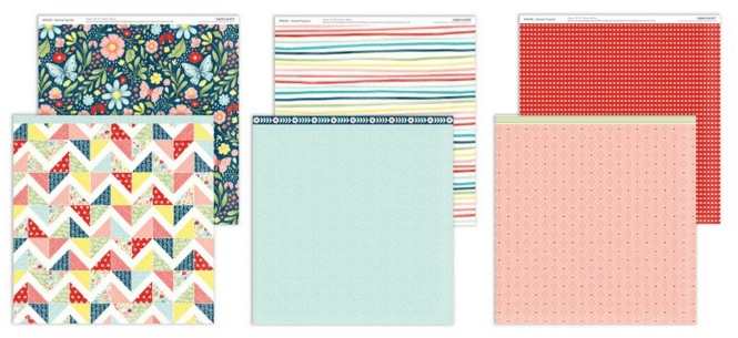 Stitched Together - from the CTMH May / June new product book