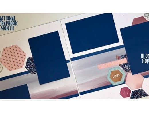 Scrapbook layout using NSM product